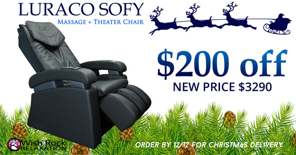 Brand New Luraco Sofy Massage Chair / theater chair - on sale now