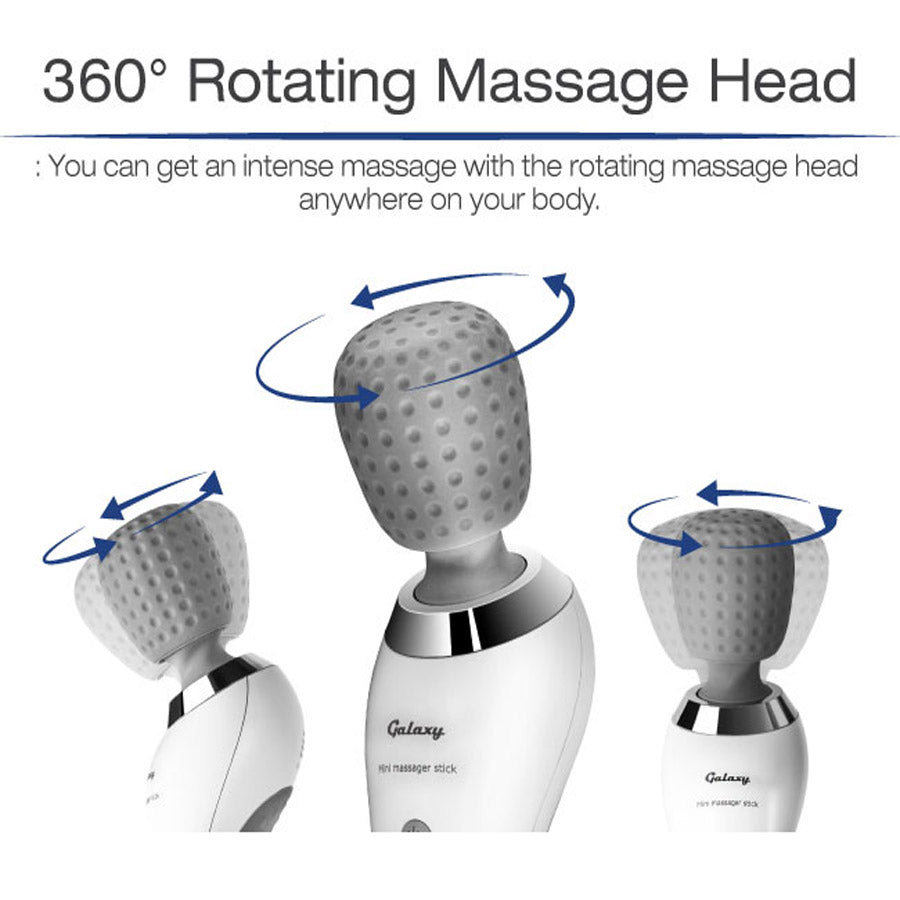 360 Rotating Massage Head