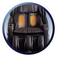 Osaki OS-4000LS Massage Chair Lumbar Heat