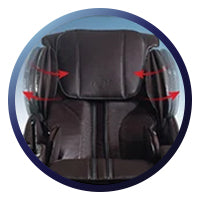 Osaki OS-4000LS Massage Chair Shoulder Massage