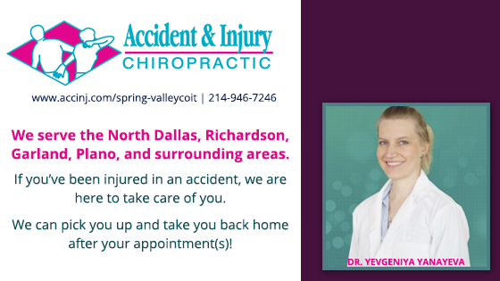Accident & Injury Chiropractic Spring Valley - Dallas, TX