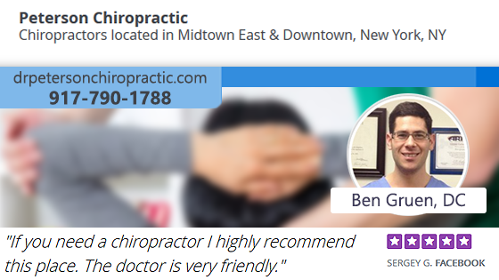 Peterson Chiropractic  - New York City, NY