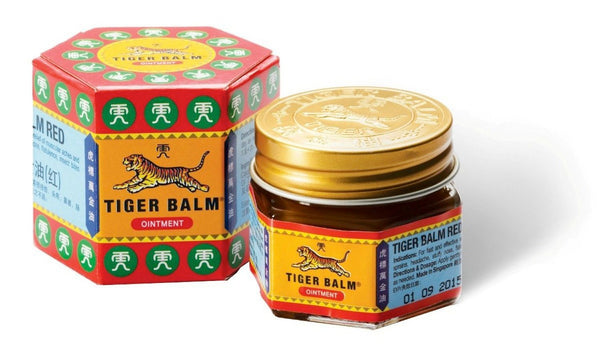 Tiger Balm to Relieve sore Muscles