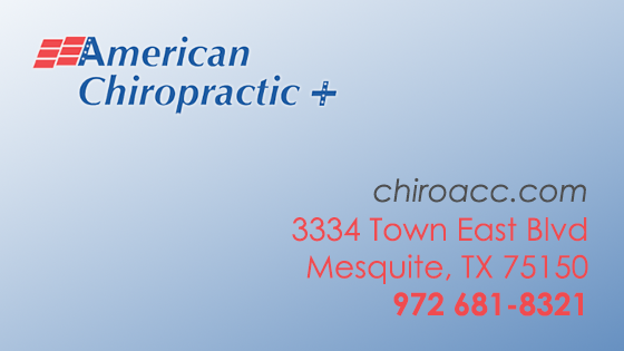 American Chiropractic Clinic - Mesquite, TX
