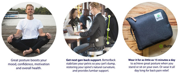 Better Back - As seen on Shark Tank - Free gift with purchase of a massage chair!