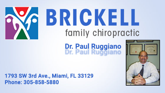 Brickell Family Chiropractic - Paul Ruggiano - Miami