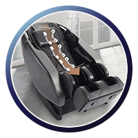 Daiwa Orbit 2 Massage Chair L Track