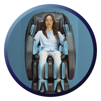Daiwa Solace Massage Chair AirBags