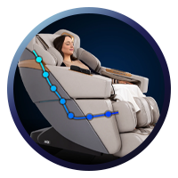 Ador 3D Allure Massage Chair SL Track Massage