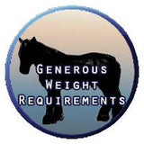 Generous Weight Requirements