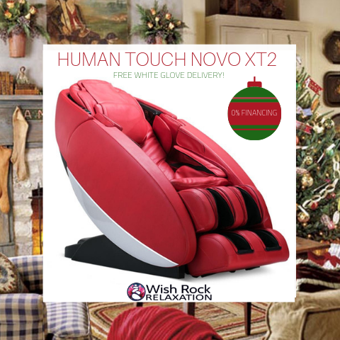 Human Touch Novo XT2 Massage Chair Black Friday Sale