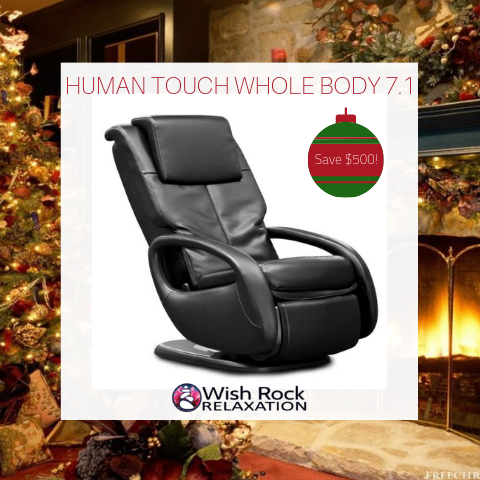 Human Touch Whole Body 7.1 Massage Chair Black Friday Sale
