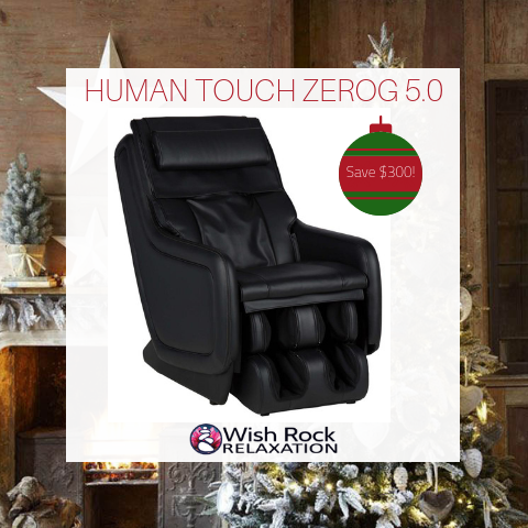 HT ZEROG 5.0 MASSAGE CHAIR BLACK FRIDAY SALE