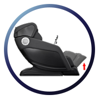 Osaki OS-Hiro LT Massage Chair Auto Leg Extend