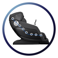 Osaki OS-Hiro LT Massage Chair SL Track