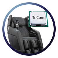 Osaki OS-Hiro LT Massage Chair Tri Core