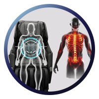 Osaki OS-Pro Honor Massage Chair - Backrest Scanning