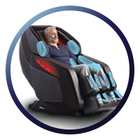 Daiwa Hubble 3D Massage Chair AirBags