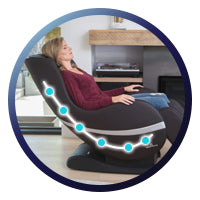 Positive Posture Sol Massage Chair - L-Track