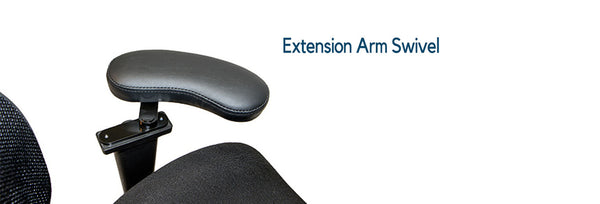 LIfeform - Extension Arm Swivel