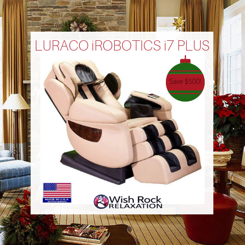 LURACO iROBOTICS i7 PLUS MASSAGE CHAIR BLACK FRIDAY