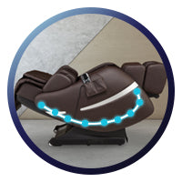 Positive Posture Brio Sport Massage Chair L Track