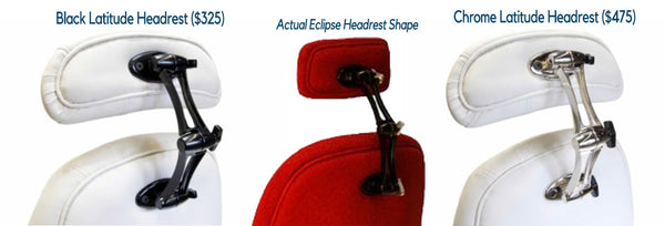 Latitude Headrests - for Eclipse Chairs