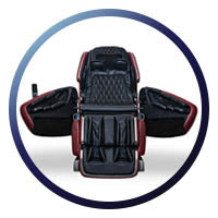 Dreamwave M.8 Massage Chair Easy Entry perfect for those in wheelchairs