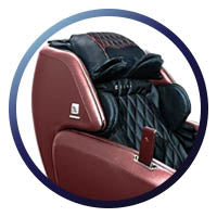 Dreamwave M.8LE Massage Chair Keand Stretch Headrest