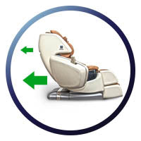 Svago Newton Zero Gravity Recliner - Heat Therapy