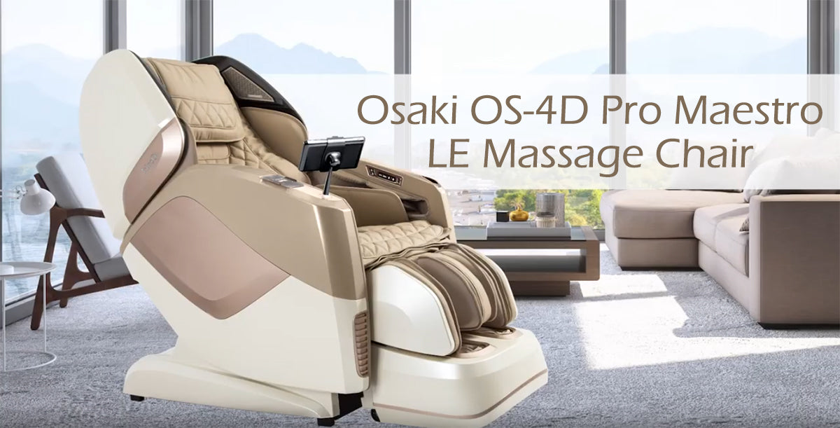 Osaki Pro Maestro LE - form and function 4D L-Track Chair