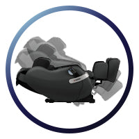Inada Nest Massage Chair - Automatic Recline