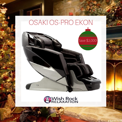 OSAKI PRO EKON MASSAGE CHAIR BLACK FRIDAY