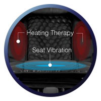 Osaki OS-Pro Alpina Heat & Seat Vibration Therapy