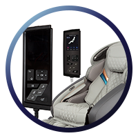 Osaki OS-Pro Admiral Massage Chair - LCD Remote