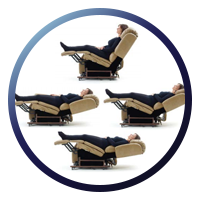 UltraComfort UC799 Apollo Stellar Comfort Eclipse Zero Gravity Power Lift Chair - Patented Positioning System