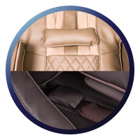 Titan Pro Ace II Massage Chair - Elbow and Neck Cushions