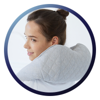 Synca Quzy Neck & Shoulder Massager Replicates the movement of a real persons fingers