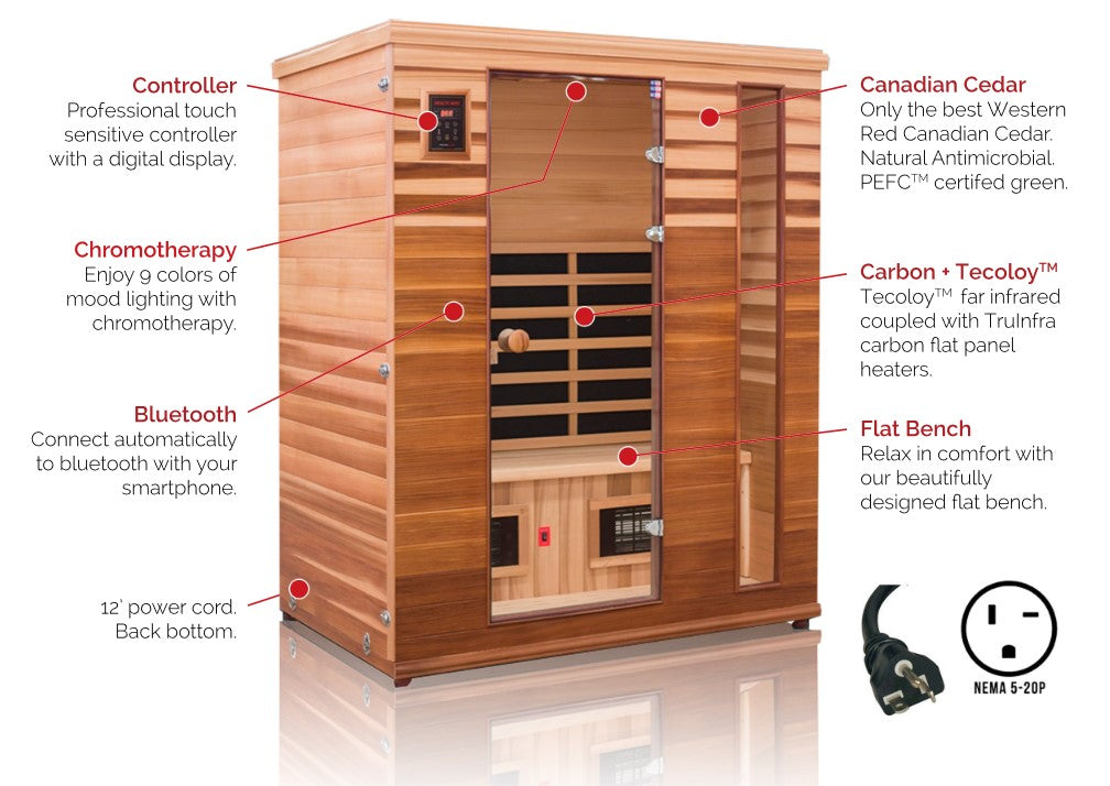 Health Mate Renew 3 Far Infrared Sauna