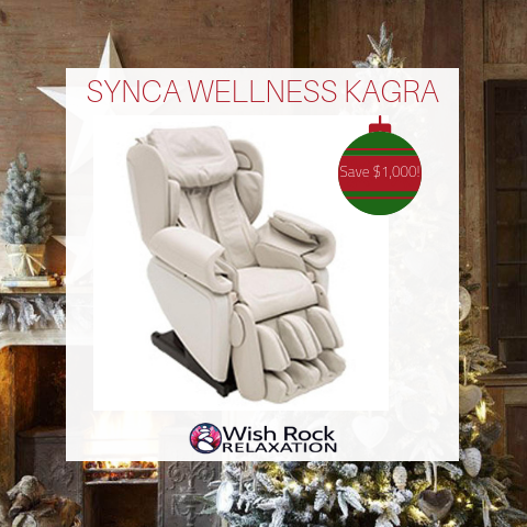 SYNCA KAGRA MASSAGE CHAIR BLACK FRIDAY