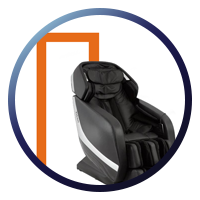 Titan Pro Jupiter XL - Space Saver Massage Chair