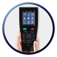 Synca Wellness JP1100 - Touchscreen Remote Circle Image