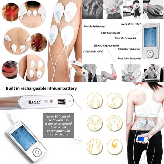 TENS EMS Unit Details - Free Gift from Wish Rock Relaxation with purchase of every massage chair