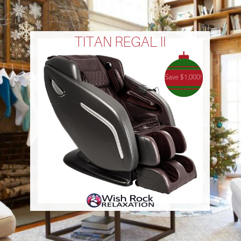 TITAN REGAL II MASSAGE CHAIR BLACK FRIDAY