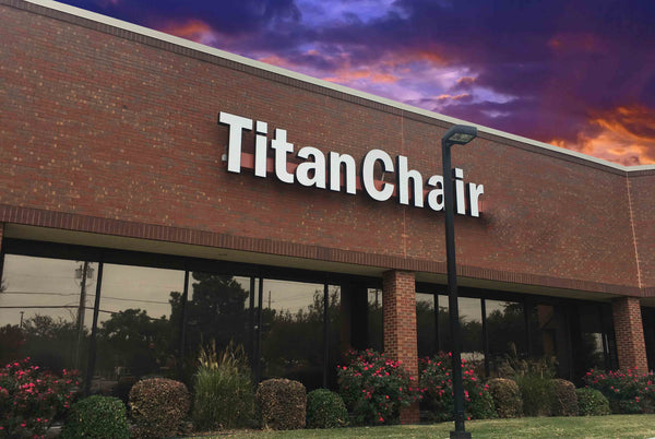 Titan Chair - Osaki Titan Carrollton, TX headquarters just outside of Dallas