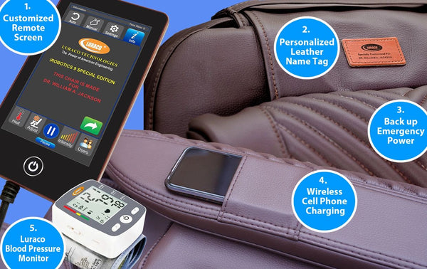 Luraco i9 Massage Chair features