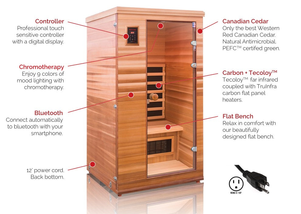 Health Mate Renew 1 Far Infrared Sauna