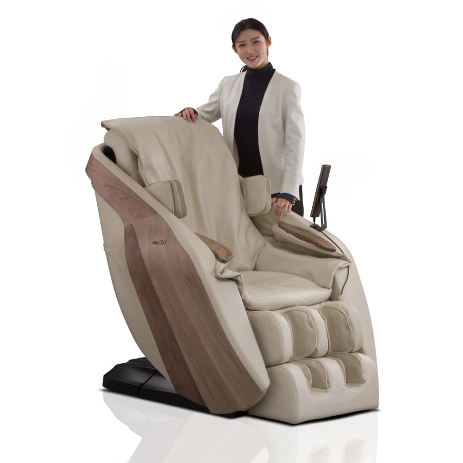 D.Core Stratus Massage Chair Cream3