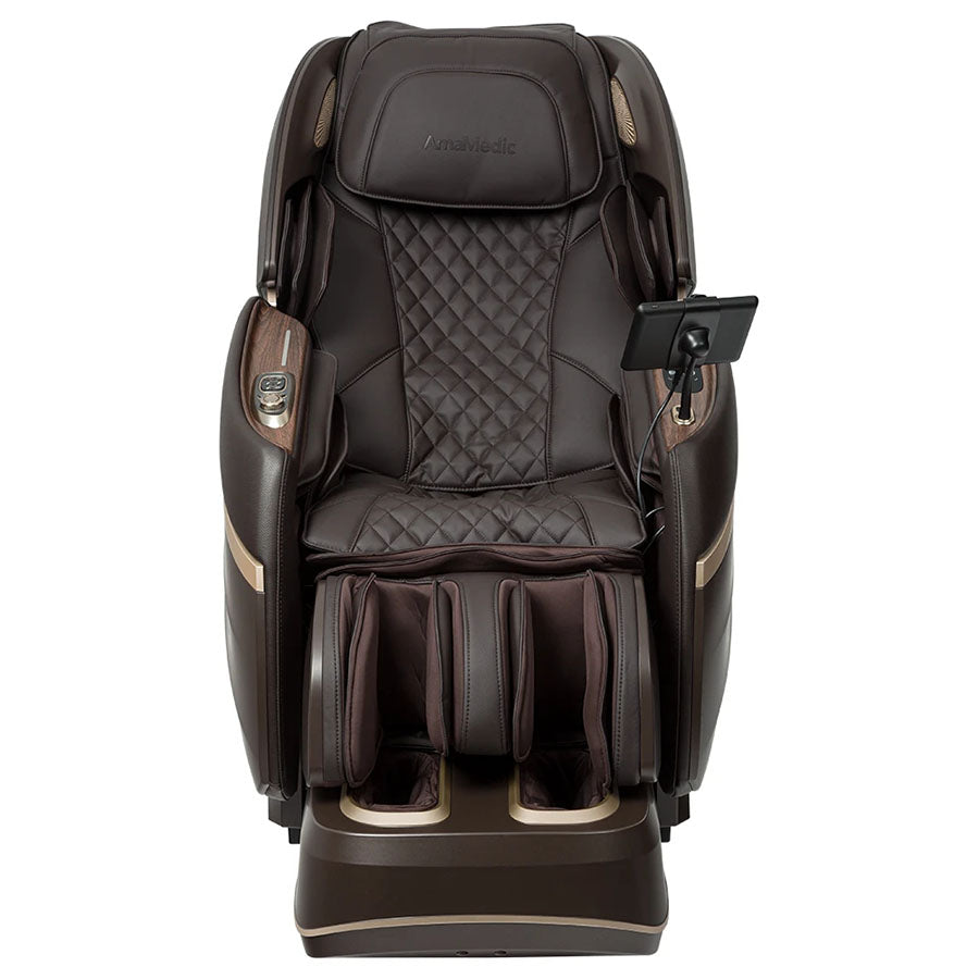 Osaki AmaMedic Hilux 4D Massage Chair Brown 2