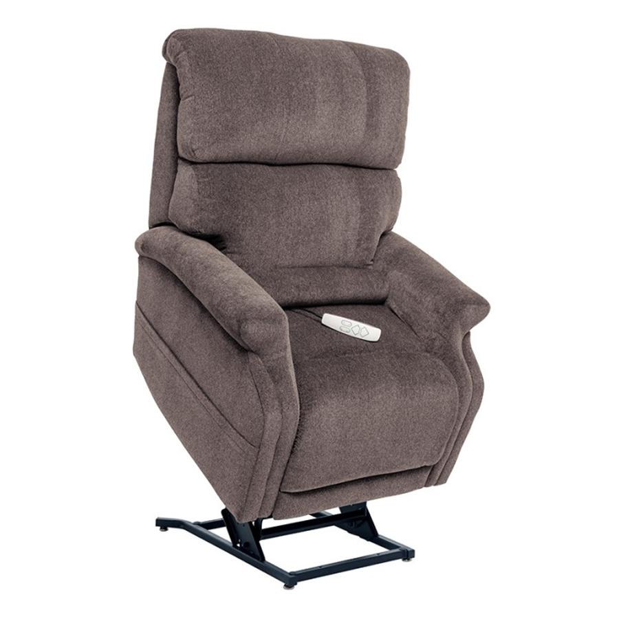 Ultimate Power Recliner Polaris NM-6100 Infinite Position Lift Chair - CHROME - Wish Rock Relaxation